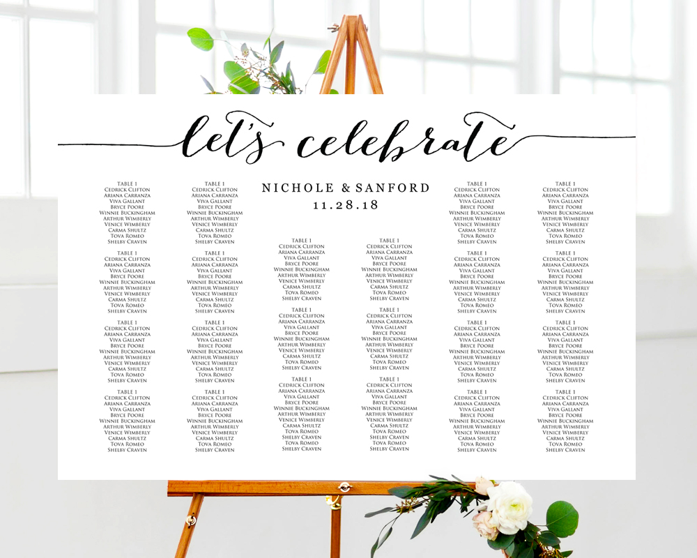 Wedding Seating Plan Templates · Wedding Templates and ...