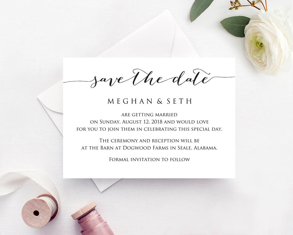 save the date wedding template wedding templates and printables. Black Bedroom Furniture Sets. Home Design Ideas