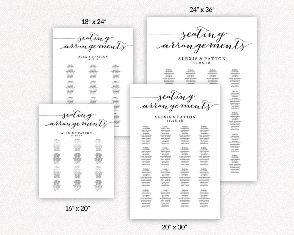 seating arrangements templates wedding templates and printables