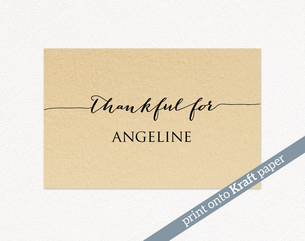 graphic relating to Thanksgiving Place Cards Printable called Thanksgiving Issue Playing cards · Wedding day Templates and Printables