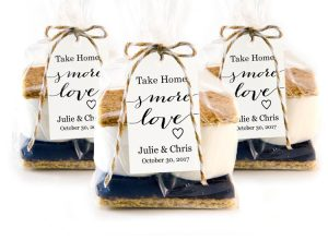 s\'mores favors · Wedding Templates and Printables